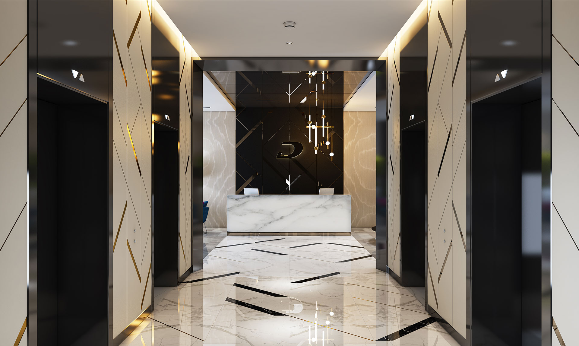 Damac Zada Lift Lobby