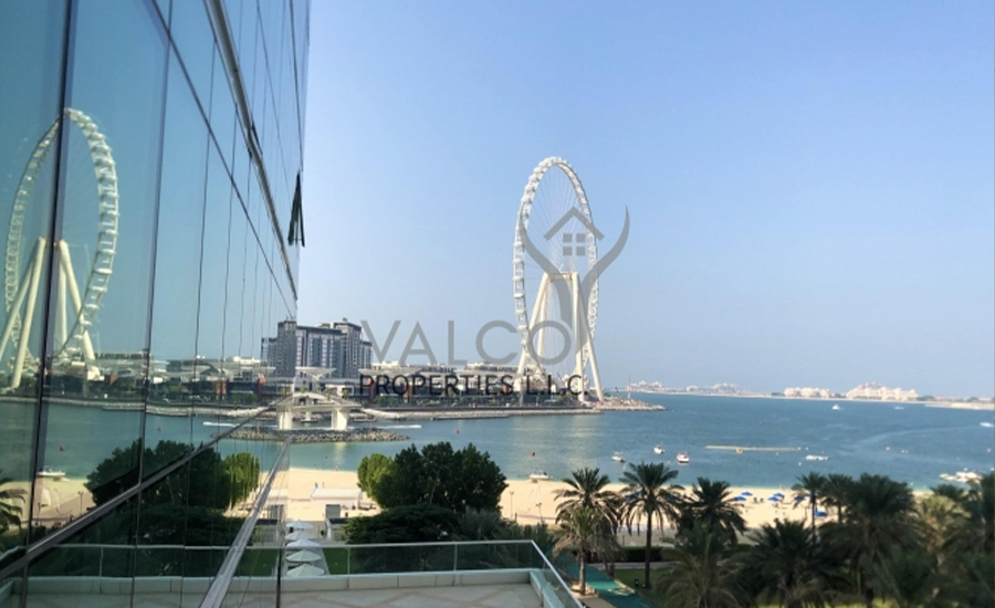 Apartment located on a mid-floor of Al Bateen Residences